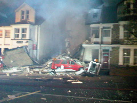 House explosion in Clacton on Sea