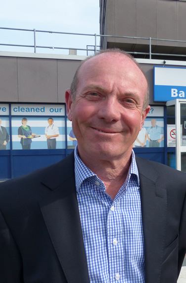 Interim Chair of the East of England Ambulance Service NHS Trust - Nigel Beverley
