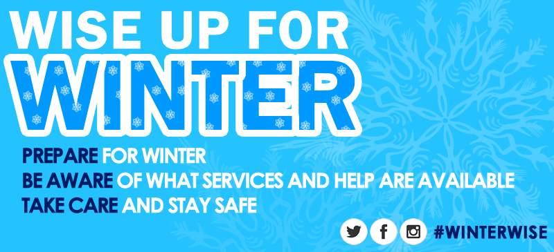 Wise up for Winter Web banner