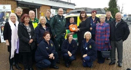 Canvey public defibrillator formally installed