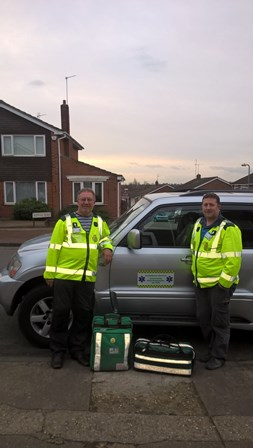 Dennis and Martin Ford - Colchester CFRs