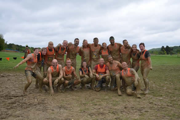 Team Bandage complete the Tough Mudder