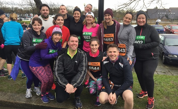 Luton runners at MK Festival of Running