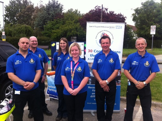 Mulbarton CFRs at their launch event at the weekend