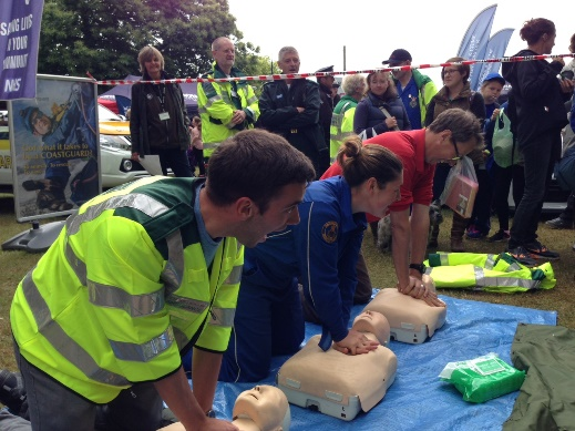 CPR demo at Royal Norfolk Show