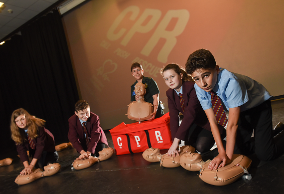 Restart a Heart Day 2019 at North Walsham High School
