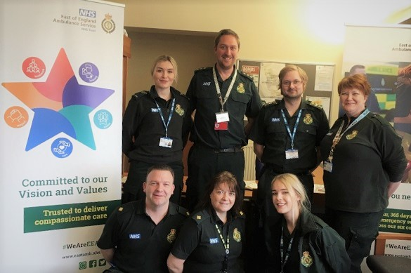 Norwich AOC Team One (Kayleigh Cook, Chris Spears, John Chapman, Amanda Ord, Shaun Hamling, Jeanette Sharp and Kirstie Clarke)