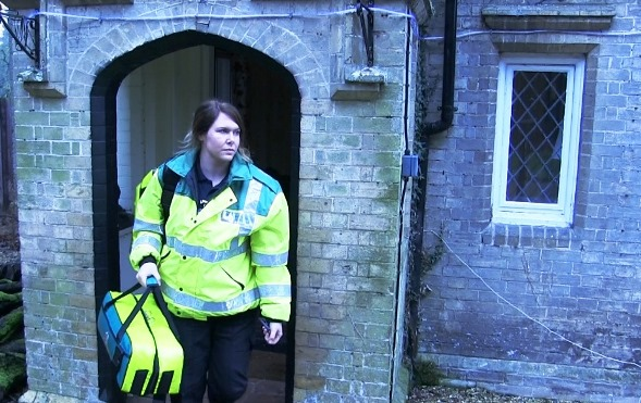 Shauna Tate became a CFR in 2016 after her son was treated for sepsis earlier in the year.