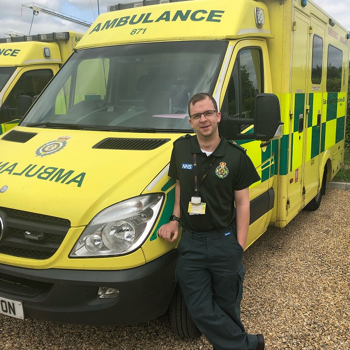 Barry Barber, Paramedic