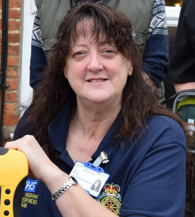 Shelley Moore, who is a call handler for EEAST and CFR.