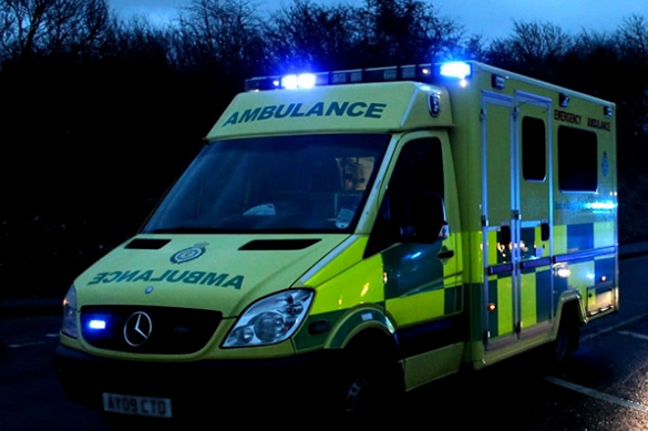 Ambulance at RTC