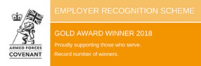 Employer recognition scheme - Gold Award
