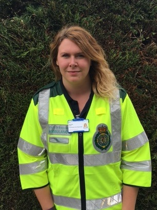 Shauna Tate, who is a member of Thetford CFRs